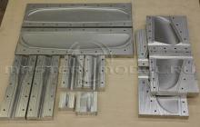 Комплект алюминиевых матриц для БПЛА