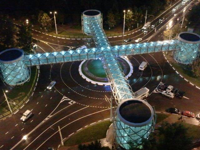 Пешеходный мост в г Химки, ООО «МАСТЕР МОДЕЛЬ»