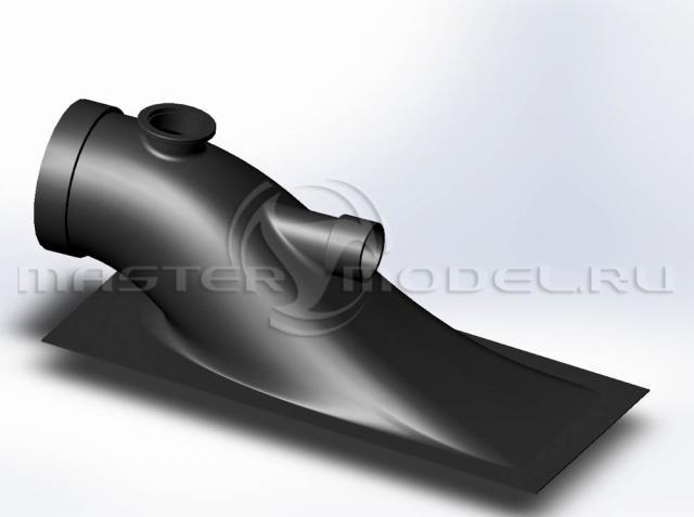 Модель кожуха водомётного движителя
