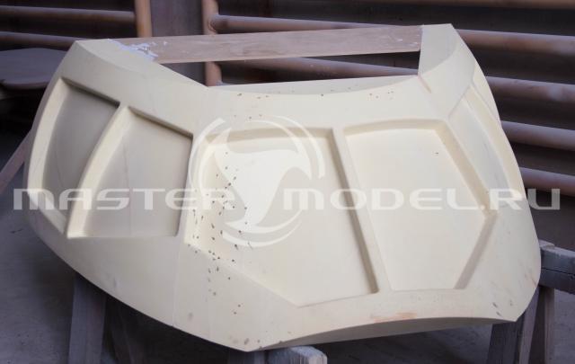 Мастер-модель остекления кабины пассажирского самолёта