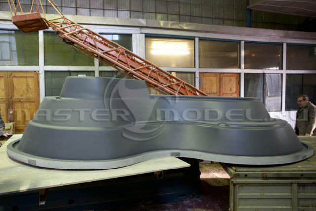 Мастермодель для вакуумной формовки прудика на 4000 литров