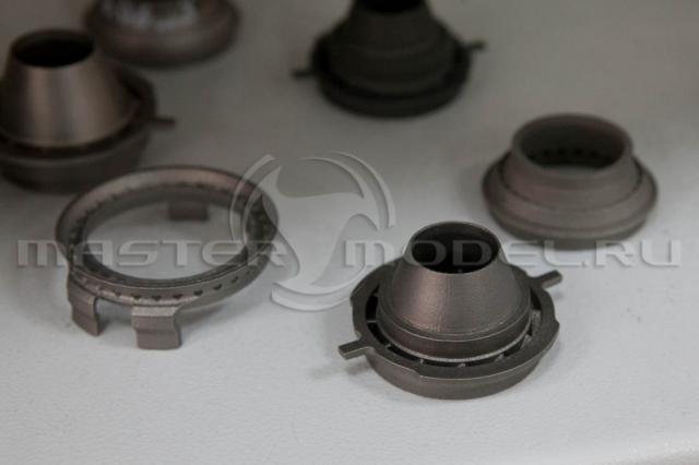 Детали газовой турбины изготовлены методом селективного лазерного плавления