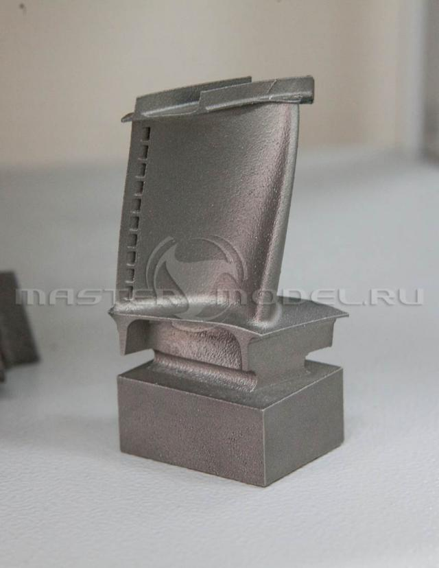 Лопатка газовой турбины получена методом селективного лазерного плавления