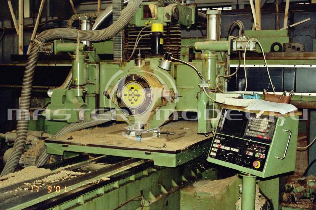 Обработка деталей в 2001 году на фрезерном станке с ЧПУ