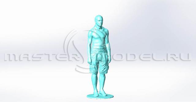 Фрезеруем скульптуру в натуральную величину
